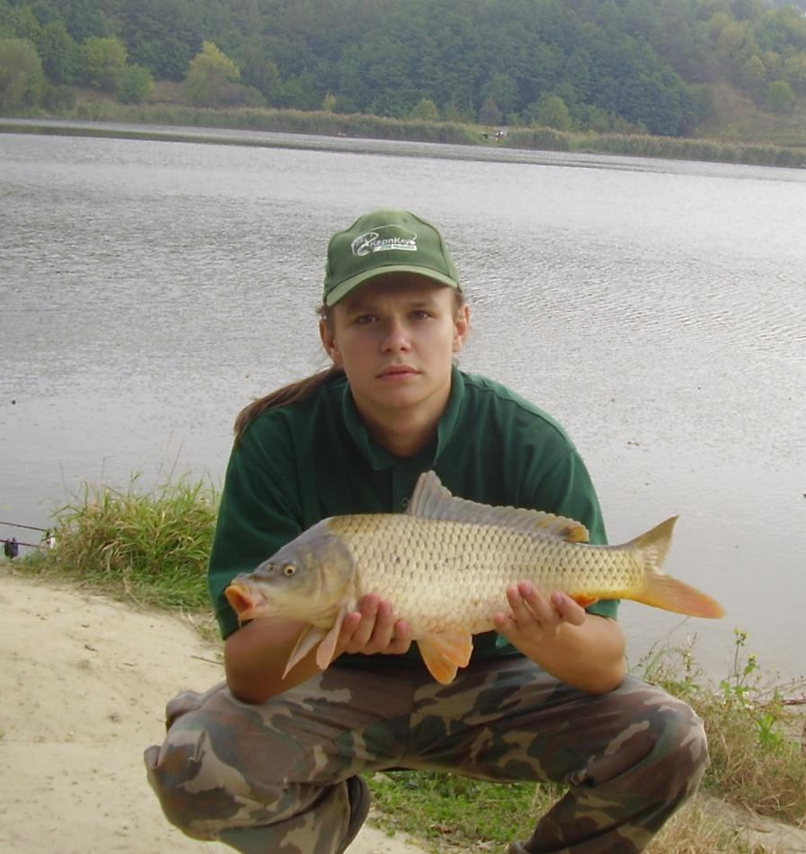 хорошая ловля рыбы на прудах